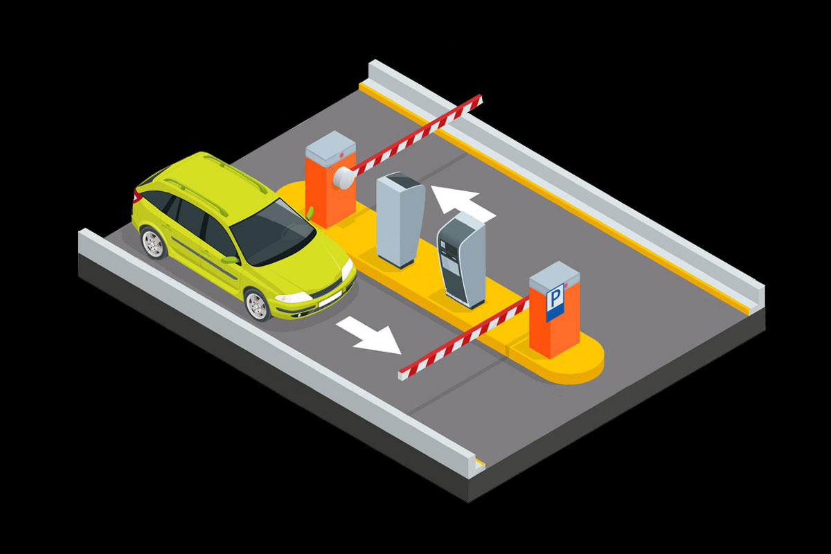کنترل هوشمند پارکینگ